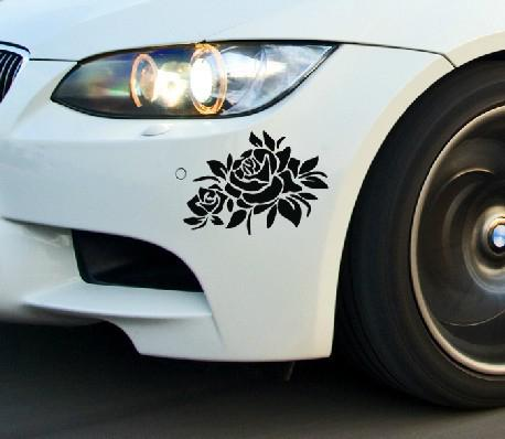 Reflective Flower Scratching Decals Car Stickers Full Body Car Styling Sticker For Cars Decoration