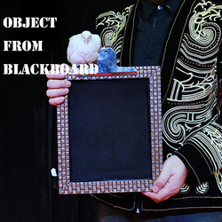Object from Blackboard Magic Tricks Appearing Magia Magician Stage Party Gimmick Props Illusions Mentalism trucos de magia Board