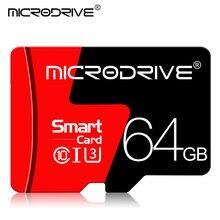 Cartão micro sd, 8gb 16gb 32gb classe 10 64gb 128gb tarjeta microsd 32gb mini flash drive tf, cartão sem adaptador