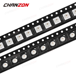 100 stücke SMD WS2812B WS2812 4pins 5050 (2020) RGB LED Emitting Diode Lampe Chip Licht Perlen Micro DIY PCB Schaltung 5V Tricolor SMT