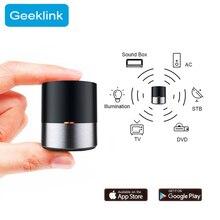 Умный домашний пульт дистанционного управления для приложения Geeklink, Wi Fi + ИК беспроводной iOS, Android, приложение Siri, голосовое управление, ТВ, AC, таймер, умное управление