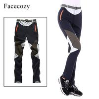 Facecozy Women Summer Hiking Pants Elastic Quick Dry Climbing Trekking Trousers Outdoor Sports Breathable Thin Camping Pants