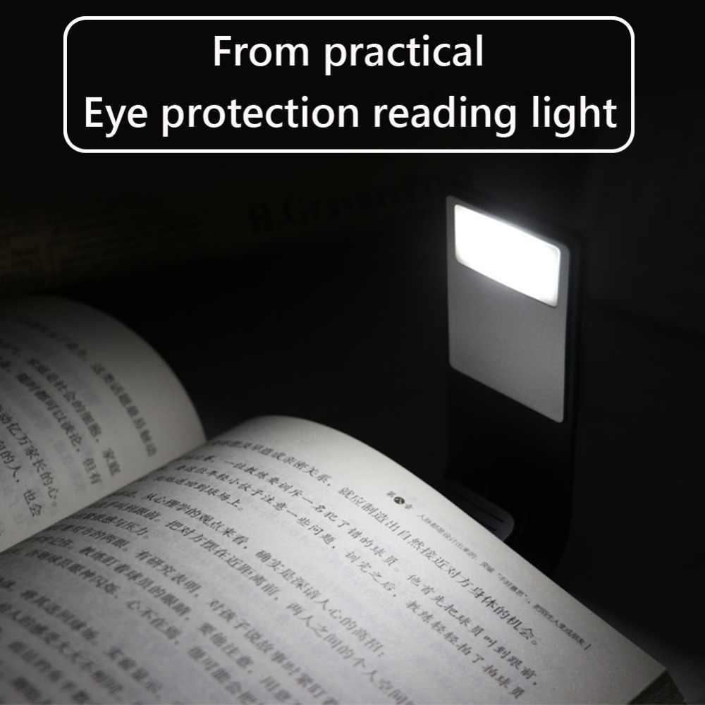 Светодиодный светильник для книг, лампа для чтения, тонкое освещение, Гибкая электронная лампа для чтения книг для Kindle