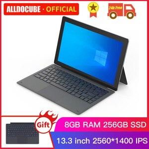 Alldocube KNote 8 Lite планшет с 13,3-дюймовым дисплеем, процессором Intel Core-M, Windows 10, ОЗУ 8 Гб, ПЗУ 256 ГБ, 2 в 1