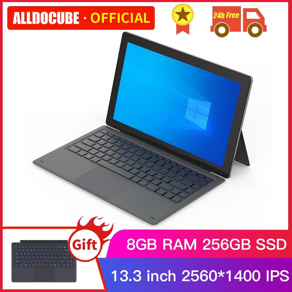 Alldocube KNote 8 Lite 13.3 inch Intel Core-M Windows 10 Tablets PC M3-6Y30 Tablet PC 8GB+256GB SSD 2 IN 1