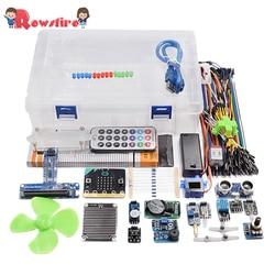 Rowsfire 1 Набор микробит Графический программирующий стартовый сенсор набор для детей Adilt креативные подарки