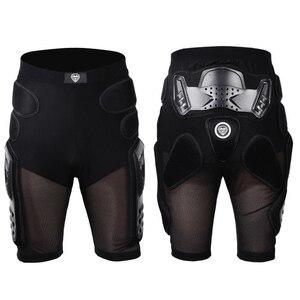 Image 5 - HZYEYO לנשימה מוטוקרוס הברך מגן אופנוע שריון מכנסיים החלקה קיצוני ספורט ציוד מגן כרית ירך מכנסיים P 01
