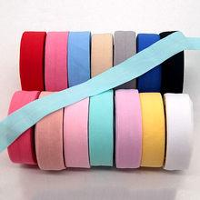 Fita elástica de 20mm, fita elástica de elastano para costura, faixa de renda e tecido dobrável, acessório para vestuário