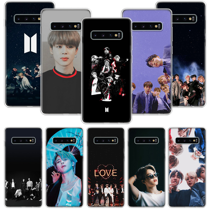 <font><b>Korean</b></font> song team JUNGKOOK Fall für <font><b>Samsung</b></font> <font><b>Galaxy</b></font> Note 10 9 8 S10 + Lite S9 S8 J4 J6 J8 plus 2018 <font><b>S7</b></font> S6 Rand Weichen Telefon Coque image