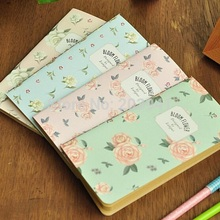 1pcs/lot Vintage Flower series  Mini notebook Retro Beautiful Printed Notebook Diary Weekly Planner Sketchbook Papelaria