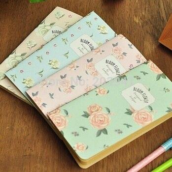 1pcs/lot Vintage Flower series  Mini notebook Retro Beautiful Printed Notebook Diary Weekly Planner Sketchbook Papelaria