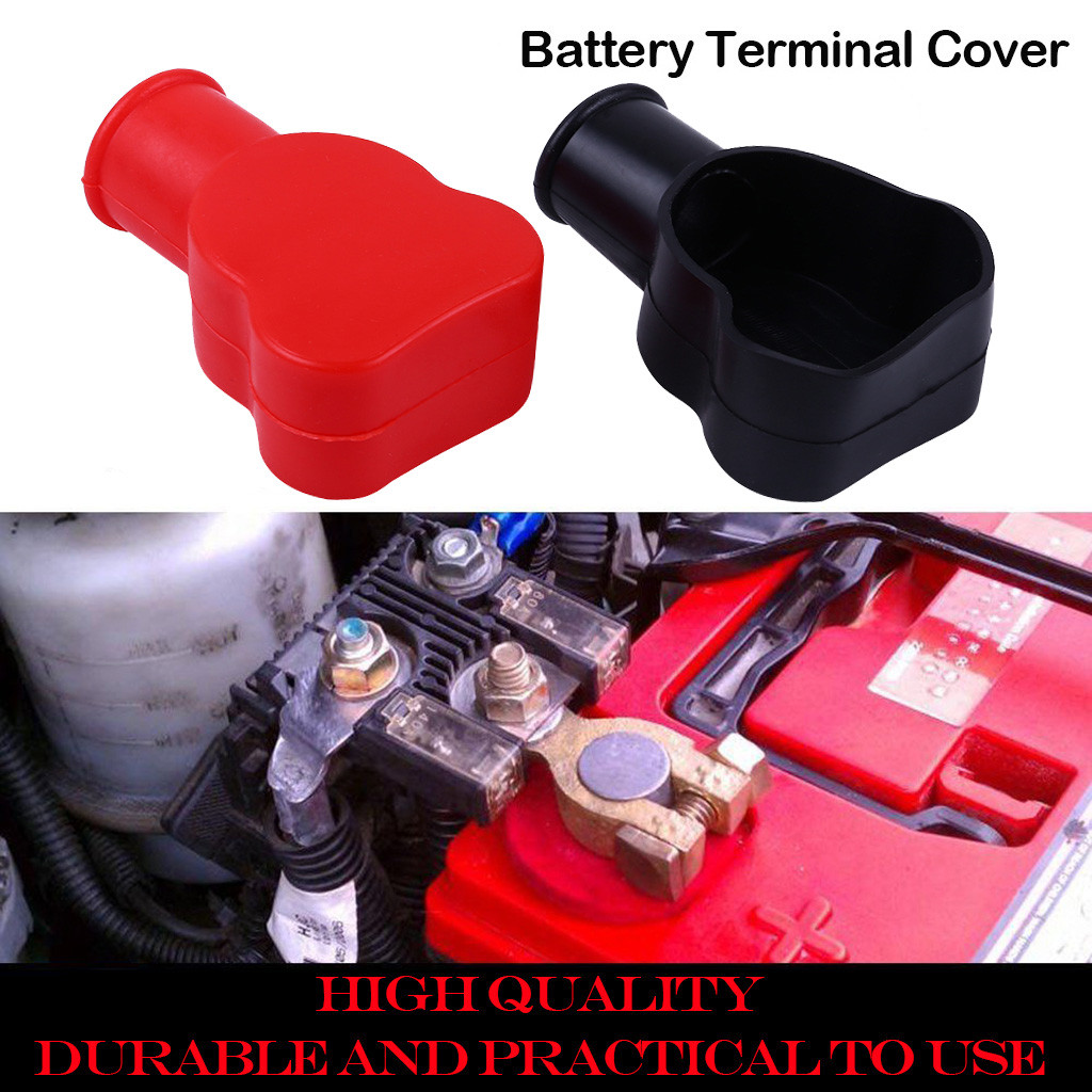 MagiDeal Battery Terminal Boots Insulating Protector Covers Black /& Red
