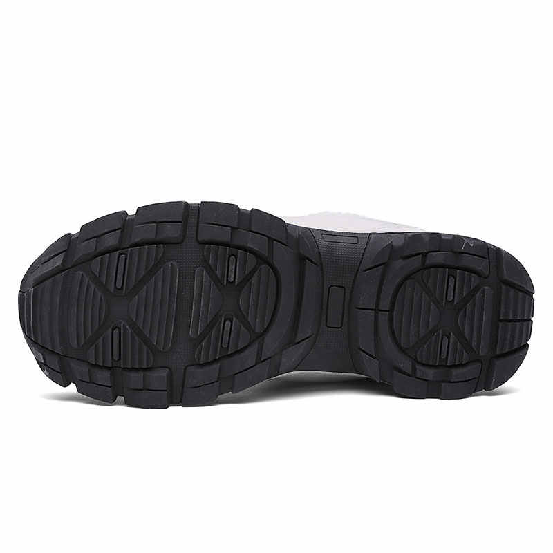 ERNESTNM kaliteli mikrofiber kar botları 2019 kış yarım çizmeler kadınlar için sıcak peluş kama kadın ayakkabı Size11 siyah ayakkabı patik