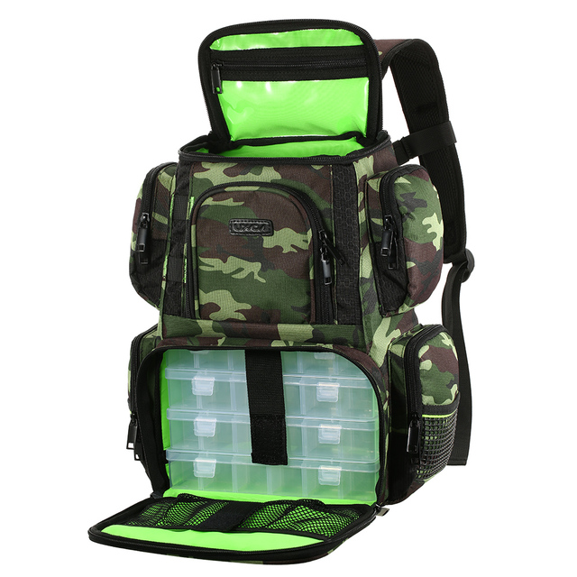 Fish Ponds In Changing Climate - Lixada Fishing Backpack Waterproof Fishing Lures Reel Bag Adjustable Straps Fish Tackle Storage Bag +Fishing Tackle Boxes Fishing Bags cb5feb1b7314637725a2e7: Trays Included|Trays Included|Trays Included|Trays Not Included