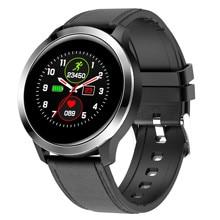 E70スマート腕時計フィットネス歩数計睡眠トラッカーメッセージリマインダーリモコン血圧アラーム時計