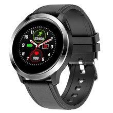Reloj deportivo inteligente E70, rastreador de sueño, recordatorio de mensajes, Control remoto, alarma de presión arterial, reloj