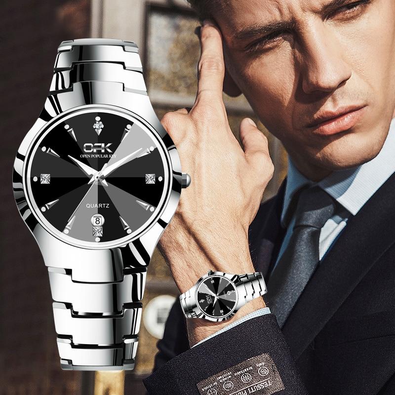 OPK Casual Sport Watches for Men Top Brand Luxury watch men Simple and stylish waterproof Men's Watch Business calendar Watch|Quartz...
