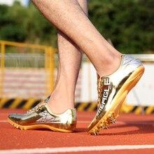 Весенне-осенняя мужская спортивная обувь унисекс с шипами для бега, Мужская удобная обувь с шипами, женская спортивная обувь хорошего качества, Брендовая женская спортивная обувь