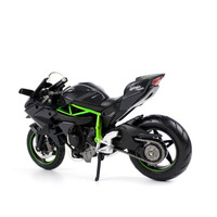 1:12 NINJA H2R Z900RS Motorcycle Model Alloy Forcecontrol Race Car Toys Hobby Collection Gift Toy Children Simulation Model Kids