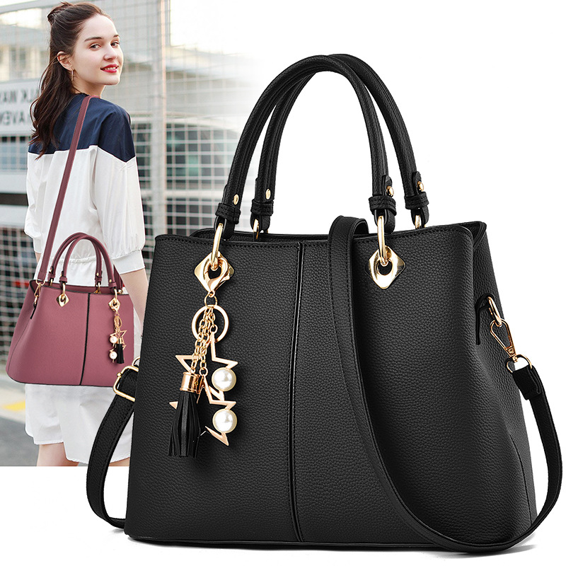 Handbags for Women Large Shoulder Tote Purse Top Handle Satchel PU Leather Pocketbooks 1