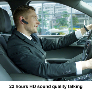 Image 4 - Yeni arı B30 Bluetooth kulaklık 22Hrs konuşan kablosuz kulaklıklar gürültü iptal Mic ile Handsfree kulaklık kulaklık için telefon