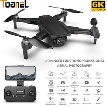 2021 New 5G GPS Drone With Camera 6K HD Wide Angle Dual-lens Blushless Quadcopter Flight 28 Mins RC Distance 1000M RC Helicopter