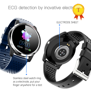 Image 5 - High quality hrv spo2 ppg smart watch Heart rate detection ECG measurement Blood pressure smartwatch bracelet for ios android