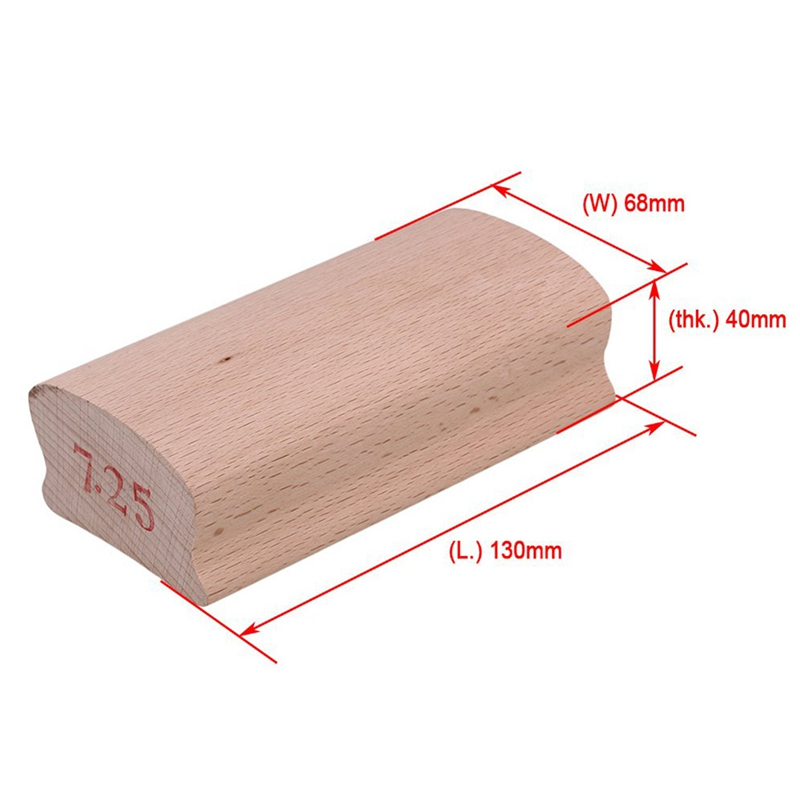 1 Piece <font><b>Radius</b></font> Sanding <font><b>Blocks</b></font> For Acoustic <font><b>Guitar</b></font> Bass Fret Leveling Fingerboard Luthier Tool image