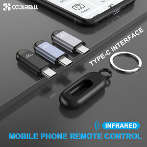Image 1 - Coolreall Infrared Remote Control TYPE C Interface For Samsung Huawei Universal Mobile phone Wireless Remote Control For Android
