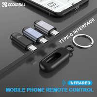 Coolreall interfaz de Control remoto infrarrojo TYPE-C para Samsung Huawei Universal teléfono móvil Control remoto inalámbrico para Android