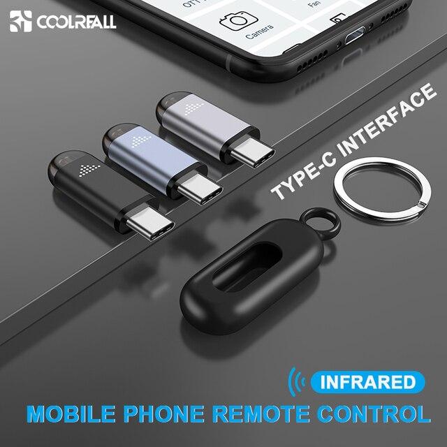 Coolreall telecomando a infrarossi interfaccia di controllo remoto per Samsung Huawei telecomando universale per telefono cellulare senza fili per Android
