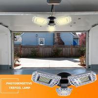 60W Waterproof Deformable Lamp E27 LED High Intensity Garage Industrial Light 3 Ultra Bright Aluminum Adjustable Heads