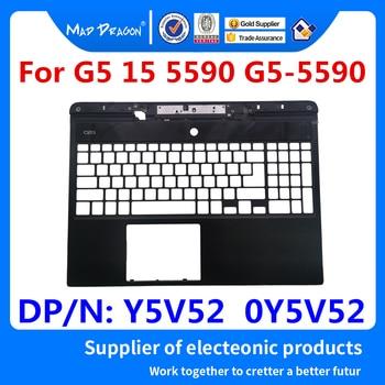 ¡Nuevo y original! Carcasa con tapa superior de repuesto para Cable de alimentación DC para Dell G5 15 5590 G5-5590 Y5V52 0Y5V52 0HTKXY