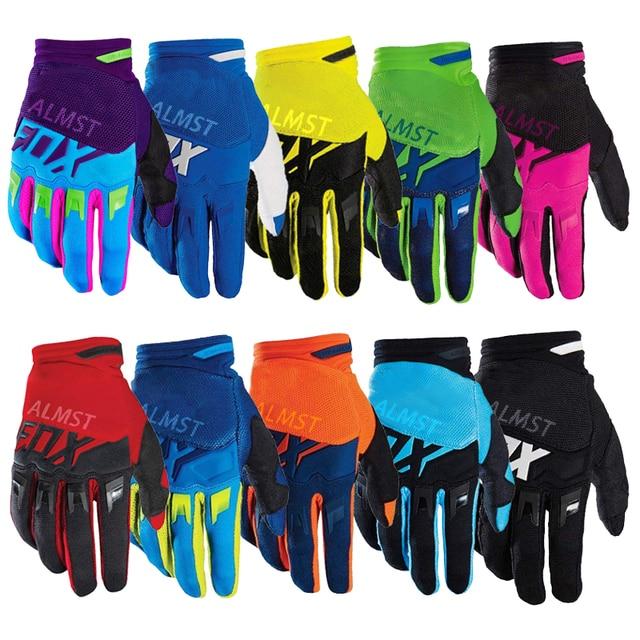2021 11 cores luvas da motocicleta das mulheres dos homens luvas de ciclismo xc am dh fr corrida fora de estrada luvas de bicicleta enduro bmx mtb 1