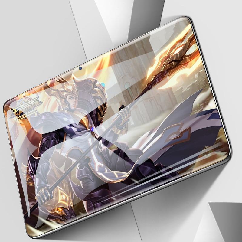 CARBAYTA CP9 10 pouces tablettes PC 10 cœurs 128 go ROM double SIM 8.0 MP GPS Android 9.0 google IPS la tablette 4G LTE coque arrière en métal