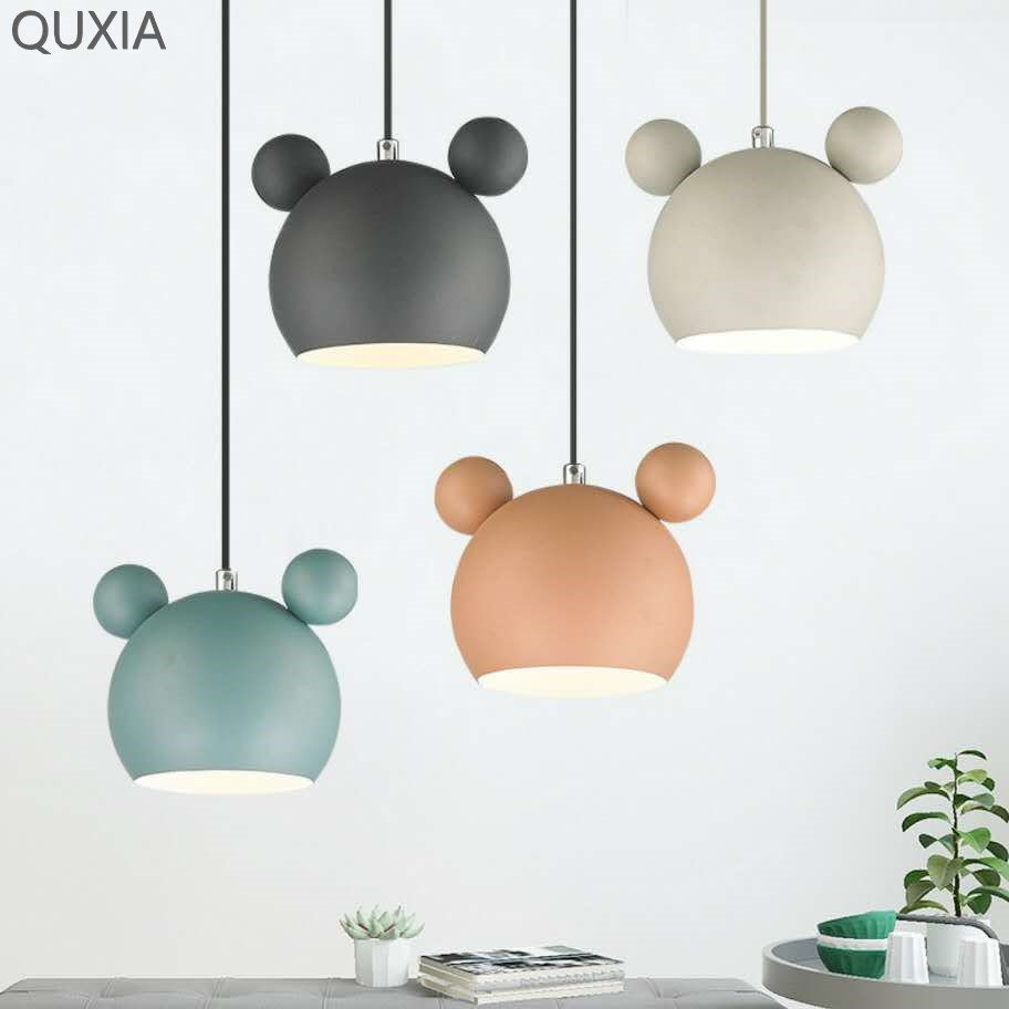 Creativity Nordic Chandelier Wall Lamp Two Styles Modern Home Children s Room Bedroom Study Cafe Table Pendant Light