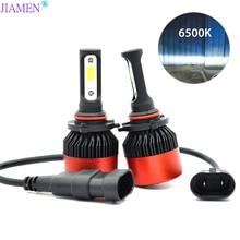 2PCS H4 H7 LED H1 H3 H8 H11 HB3 9005 HB4 9006 H27 880 881 Bulbs Mini Car Headlight Lamp 6000LM 72W Auto Headlamp 12V 24V