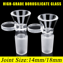 14 мм/18 мм школьная Лаборатория стеклянная посуда из боросиликатного стекла шарнир прозрачная скользящая Мужская стеклянная чаша с ручкой Воронка Тип чаша химия