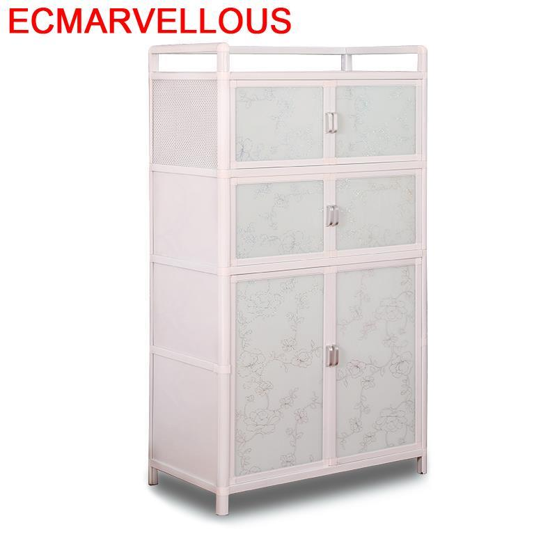 Console Aparadores End Tables For Room Dolap Kaplama Cupboard Kitchen Furniture Mueble Cocina Cabinet Aluminum Alloy Sideboard