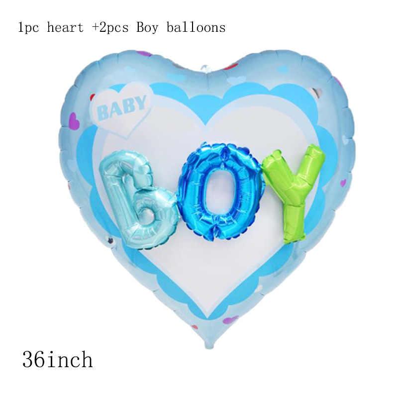 36 polegada 3D carta de amor Coração foil Balloons Decorações da festa de aniversário Do Dia Dos Namorados Do Casamento do bebê da menina do menino bola na bola globos de ar