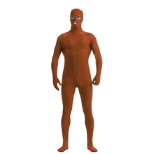 (CM-43) Lycra Spandex Zentai Full Body Skin Tight Jumpsuit Zentai Suit Bodysuit Costume with Open Eyes/Mouth