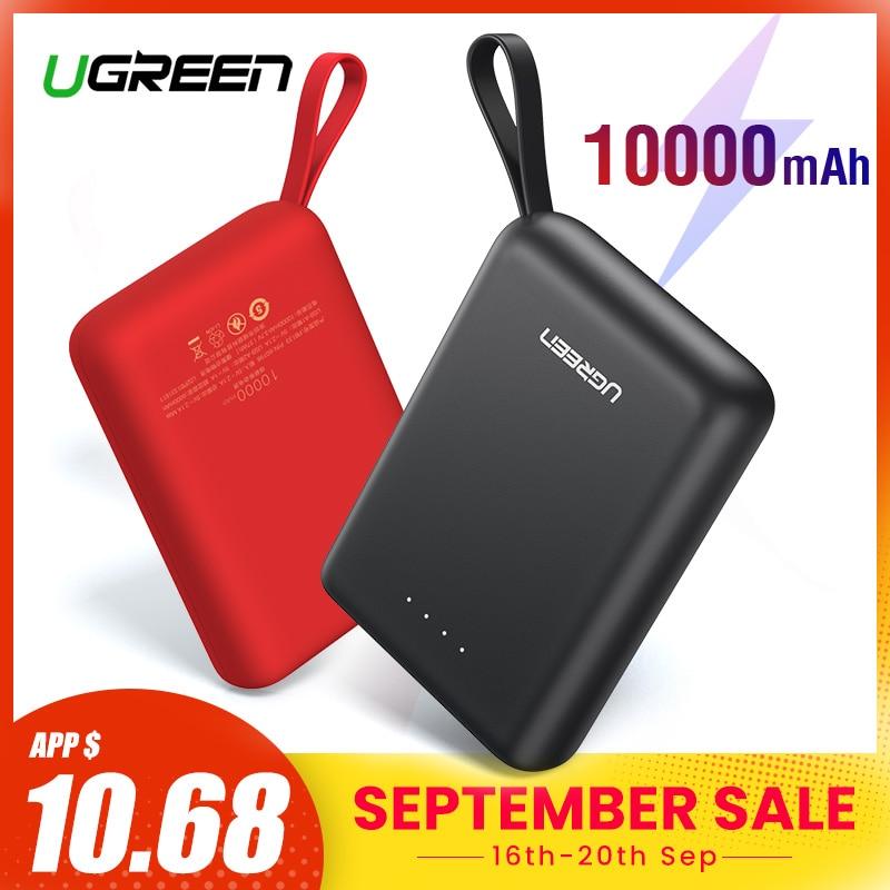 Ugreen Power Bank für Xiaomi Mini Pover Bank 10000mAh Tragbare Externe Telefon Batterie Ladegerät für iPhone X Huawei P20 poverBank