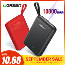 Ugreen Power Bank für Xiaomi Mini Pover Bank 10000mAh Tragbare Externe Telefon Batterie Ladegerät für iPhone X Huawei P20 poverBank(China)