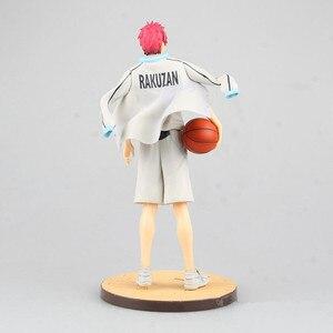 Image 5 - אנימה Kuroko אין סל Seirin כדורסל מועדון אקאשי Seijuro אזור מדי GAKUEN Rakuzan פעולה איור PVC דגם אוסף צעצוע בובה