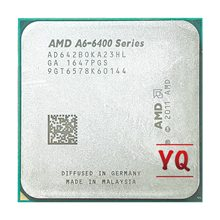 AMD A6-Series A6-6420B A6 serii 6400 4.0Ghz 65W Dual-Core procesor CPU AD642BOKA23HL gniazdo FM2