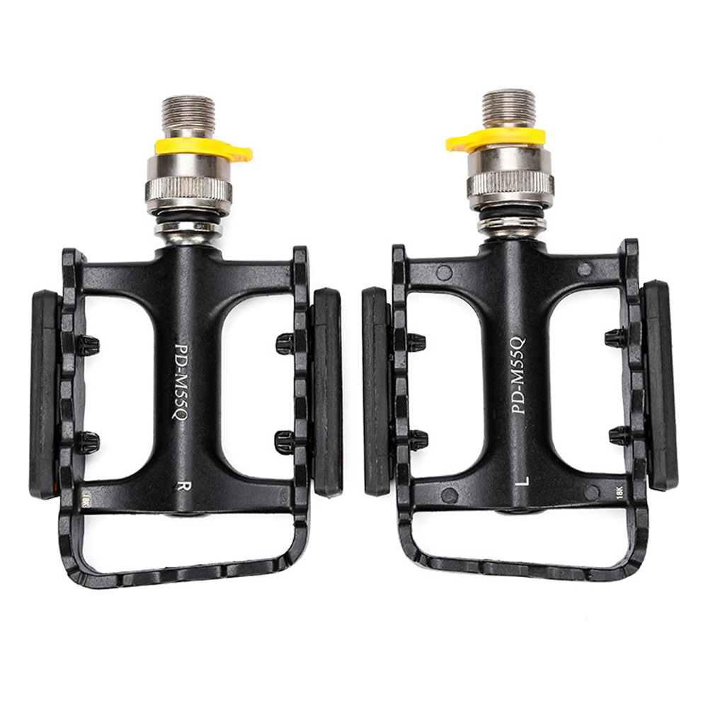 Quick Release Pedals Non-slip Bearing For Folding Bike Bicycle Cycling Parts