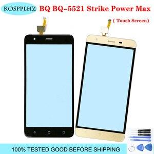 Image 1 - 5.5 glass glass vidro da tela de toque do telefone móvel para bq BQ 5521 strike power max touch screen painel digitador vidro sensor bq5521 bq 5521