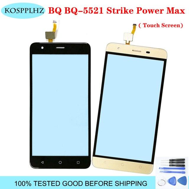 5.5 glass glass vidro da tela de toque do telefone móvel para bq BQ 5521 strike power max touch screen painel digitador vidro sensor bq5521 bq 5521