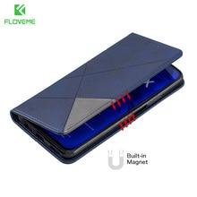 FLOVEME Leather Case For Samsung A10 A20 A30 A40 A50 A70 2019 Phone Ca