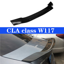 Carbon Fiber Rear Spoiler Trunk Wing Lid For Mercedes CLA Class W117 CLA250 CLA260 CLA45 2013~2019 R Style Spoilers